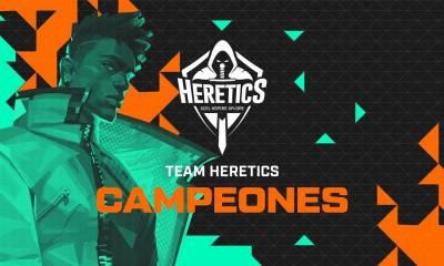 team heretics sampiyon