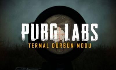 pubg lab termal modu