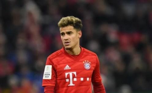 Bayern não pretende exercer opção de compra por Coutinho(Getty Images)