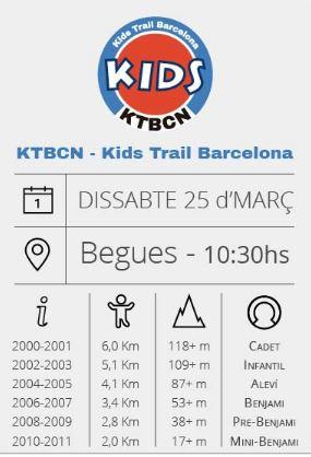 utbcn ktbcn kids trail