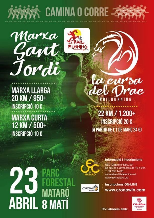 MARXA SANT JORDI CURSA DEL DRAC