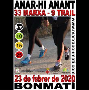 Marxa i Trail Anar-hi Anant 2020 @ Pavelló de Bonmatí
