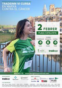 TRADEINN AECC Girona en Marxa contra el càncer 2020 @ Plaça Catalunya de GIRONA