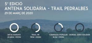 Antena Solidària Trail Pedralbes 2020 @ Monestir de Pedralbes