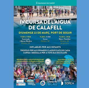 Cursa de l'Aigua a Calafell 2020 @ Port de Segur