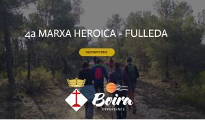 Marxa Heroica Fulleda - Boira Experience 2020 @ Fulleda