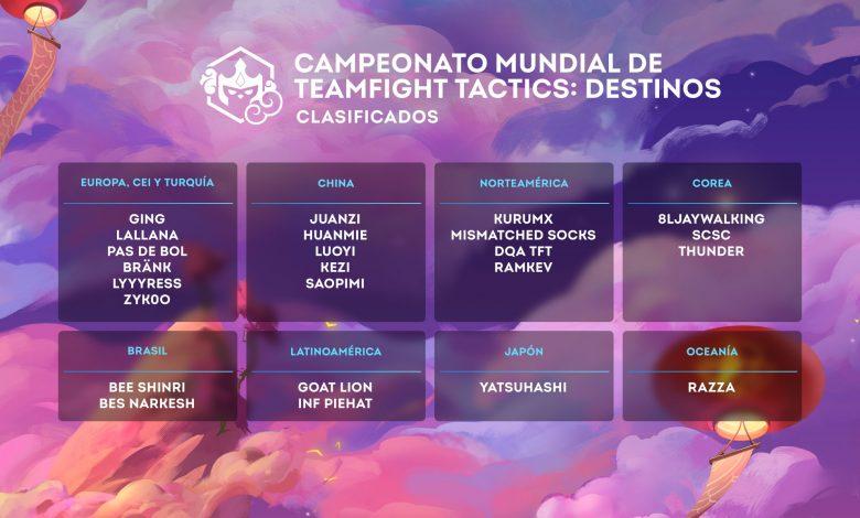 El mundial de Teamfight Tactics TFT esta a punto de comenzar