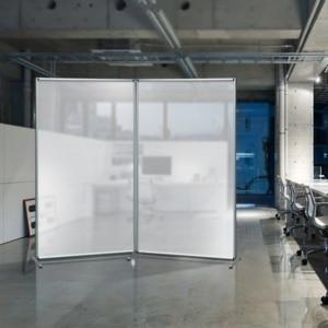 Pannelli divisori mobili componibili in policarbonato