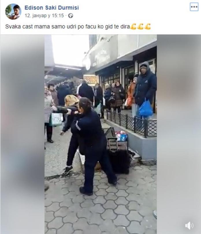 OVO JE SIN PRODAVAČICE KOJA JE NOKAUTIRALA KOMUNALNU POLICAJKU: Ima snažnu poruku za majku! (FOTO) 1