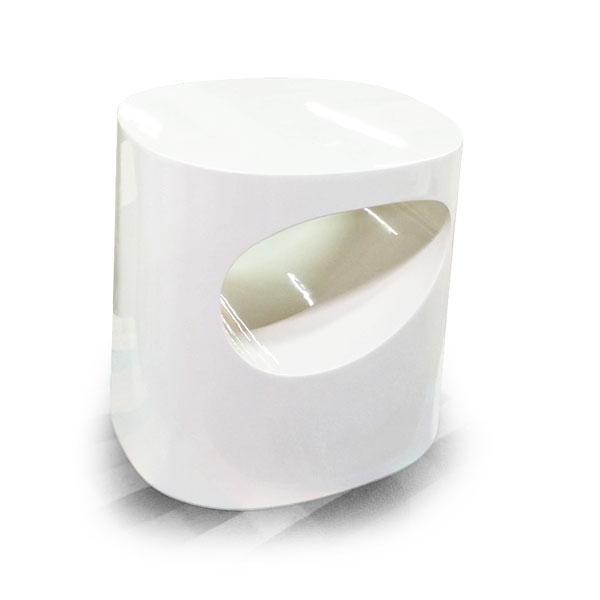 鋼烤白現代鏤空床頭櫃c20095 – ESHOME意思家居 頂級訂製家具
