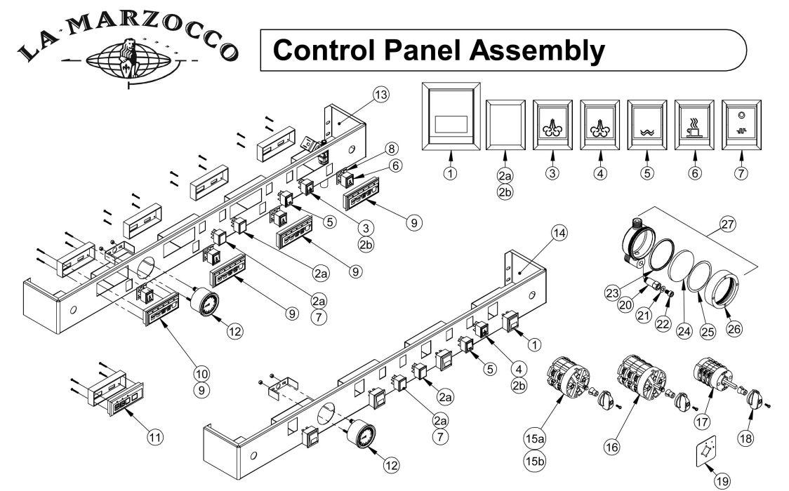 hight resolution of la marzocco wiring diagram wiring library la marzocco gs3 la marzocco control panel assembly drawing a