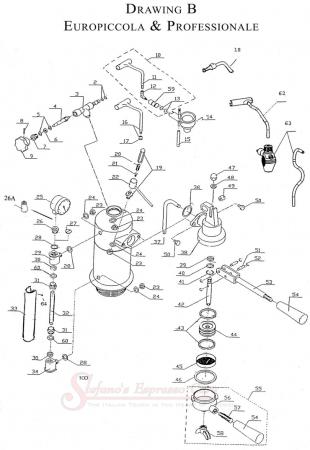 La Pavoni Europiccola Wiring Diagram : 36 Wiring Diagram