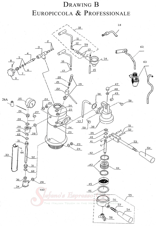 La Pavoni Europiccola Wiring Diagram Auto Electrical