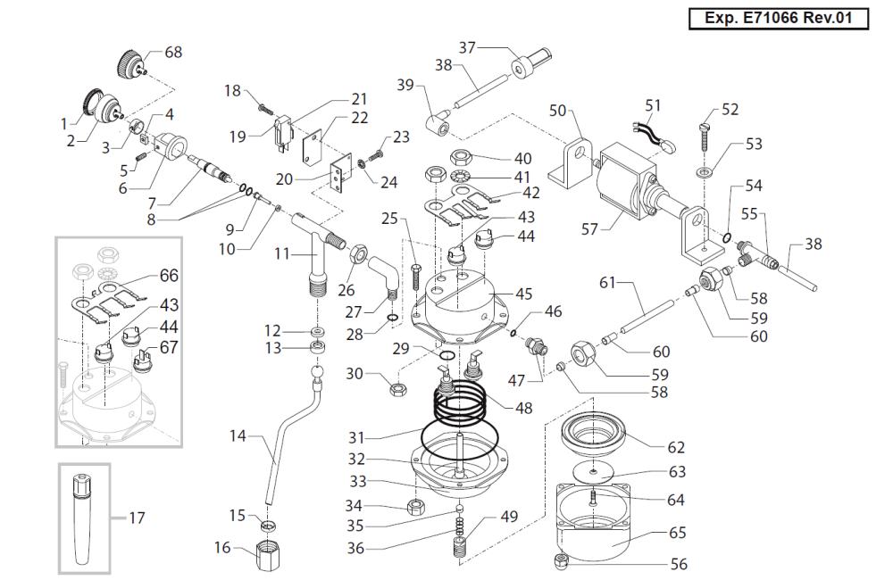 medium resolution of saeco starbucks via venezia internal parts
