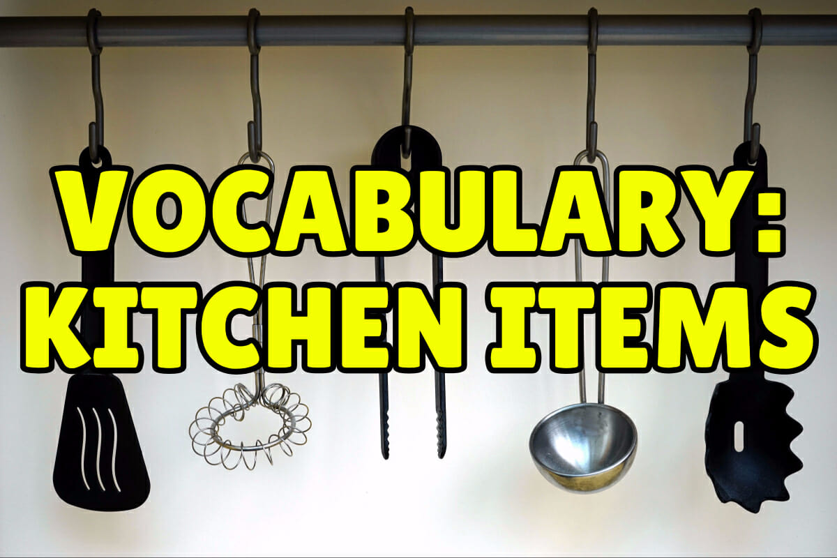 Learn English With Pictures 22 Things In The Kitchen