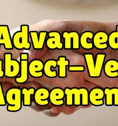 Advanced Subject Verb Agreement + Exercises – Espresso English [ 800 x 1200 Pixel ]
