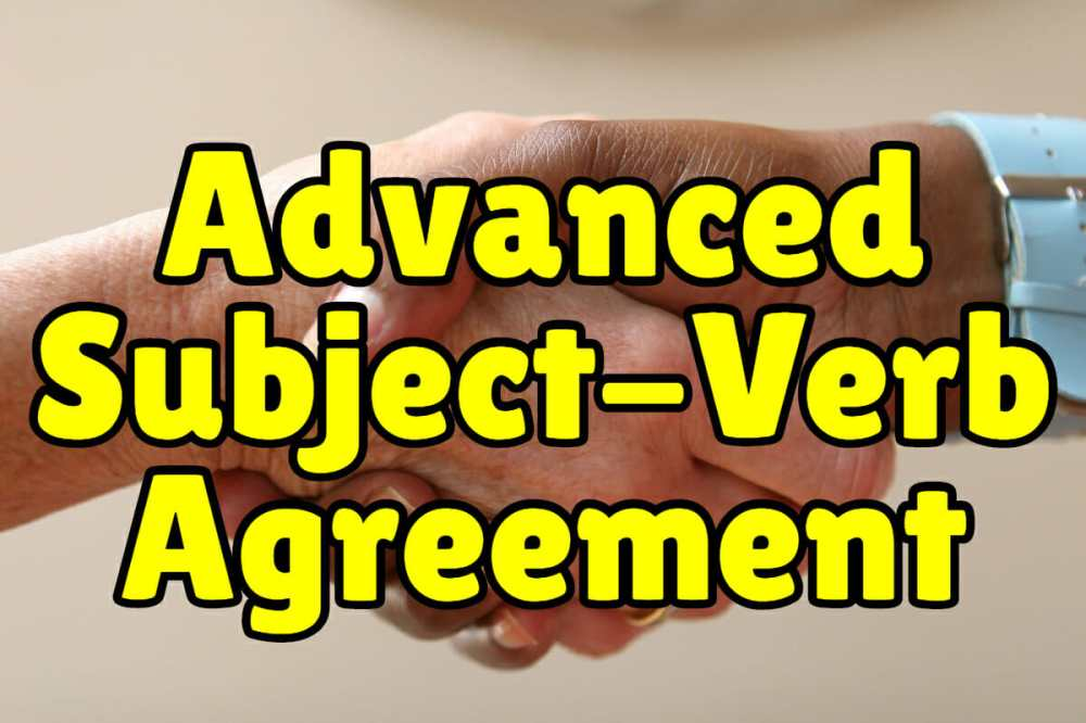 medium resolution of Advanced Subject Verb Agreement + Exercises – Espresso English