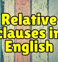 Relative Clauses + Exercises – Espresso English [ 800 x 1200 Pixel ]