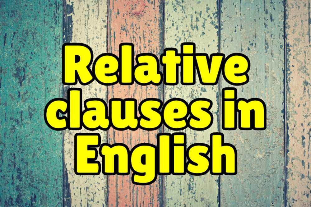 medium resolution of Relative Clauses + Exercises – Espresso English
