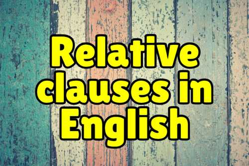 small resolution of Relative Clauses + Exercises – Espresso English