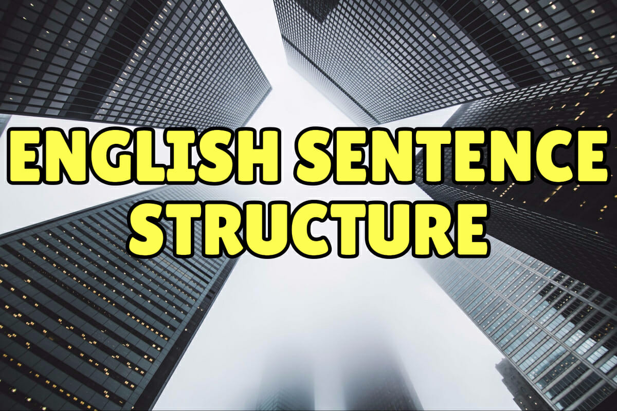 hight resolution of English Sentence Structure: 4 Types of English Sentences – Espresso English