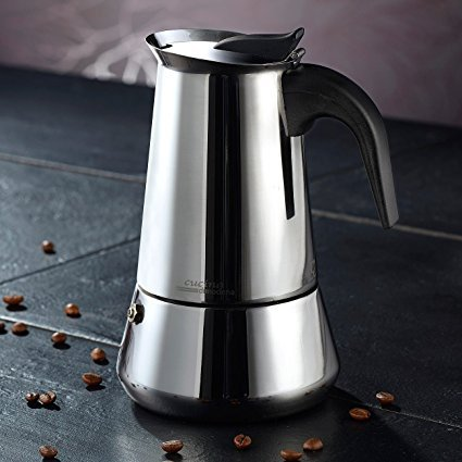Cucina di Modena Espressokocher fr 6 Tassen Espressokocher Test 2019