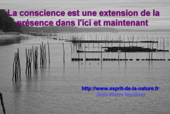 conscience présence