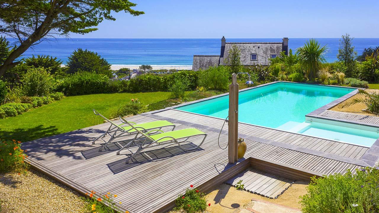 Dp piscines  piscinier  Quimper piscine spa sauna hammam
