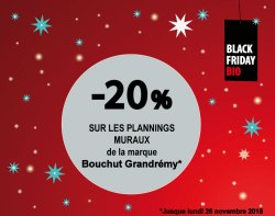 BLACK FRIDAY BIO PLANNINGS BOUCHUT GRANDREMY