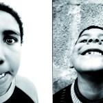 Portrait d'enfants pris par JR