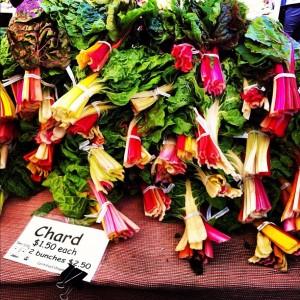 Blettes colorées introuvables à Paris