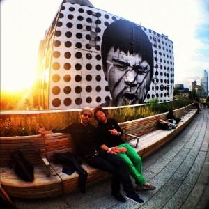 Jean Imbert et JR à New York