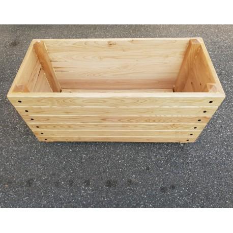 jardiniere en bois 100 x 50 x 50 cm