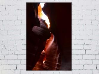 Antelope canyon - Aluminium 20x30 par Esprit Combi - 40,00 €