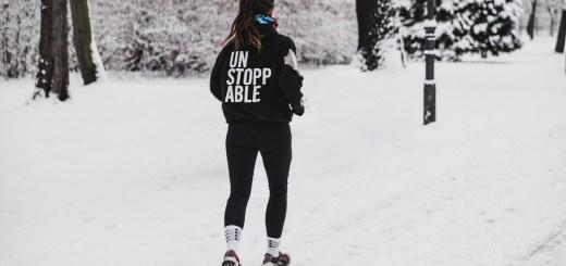 Woman Jog Winter Snow Girl Person  - wal_172619 / Pixabay