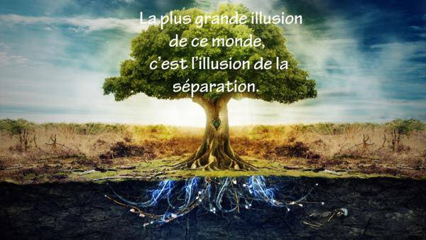 séparation n'est qu'une illusion