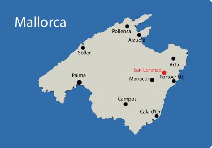 san lorenzo auf mallorca mit