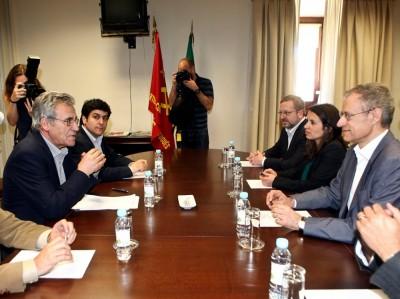 O diálogo entre ambos os partidos vai prosseguir. Foto de JOÃO RELVAS, LUSA