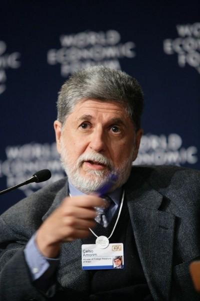 Celso Amorim, actual Ministro das Relações Exteriores do Brasil - Foto wikimedia