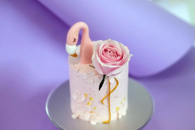 The Cakery Love Blossoms 純素朱古力蛋糕