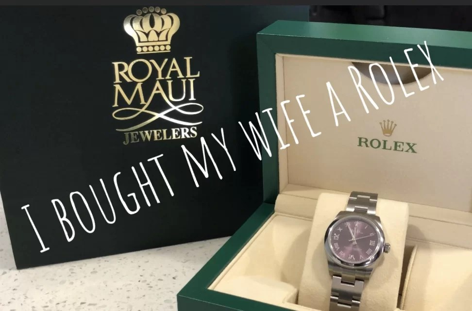 I Bought my Wife A Rolex