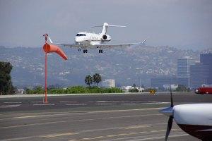 Airplane Santa Monica Airport Esquire Real Estate Brokerage