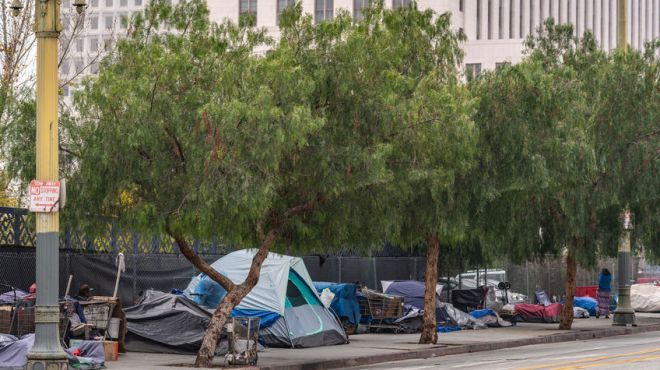 Supreme Court Ruling Allows Homeless To Sleep On Public Streets