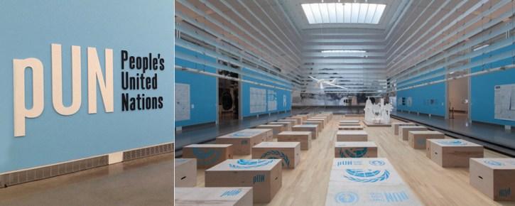 """People's United Nations. Pedro Reyes (2013)"