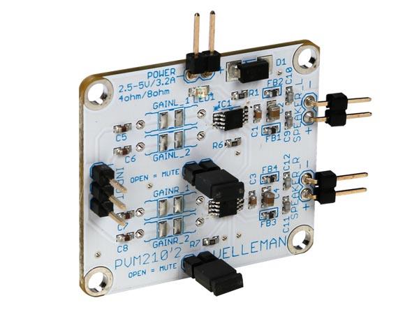 Stereo Power Amplifier 4w 8w With Tda2005