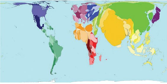 Image result for cartograms