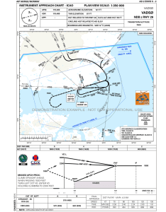 Instrument approach chart by avinor also arcgis for aviation charting gallery rh esri