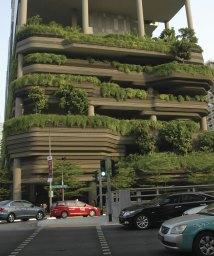 Singapore Hotel Rooftop Garden