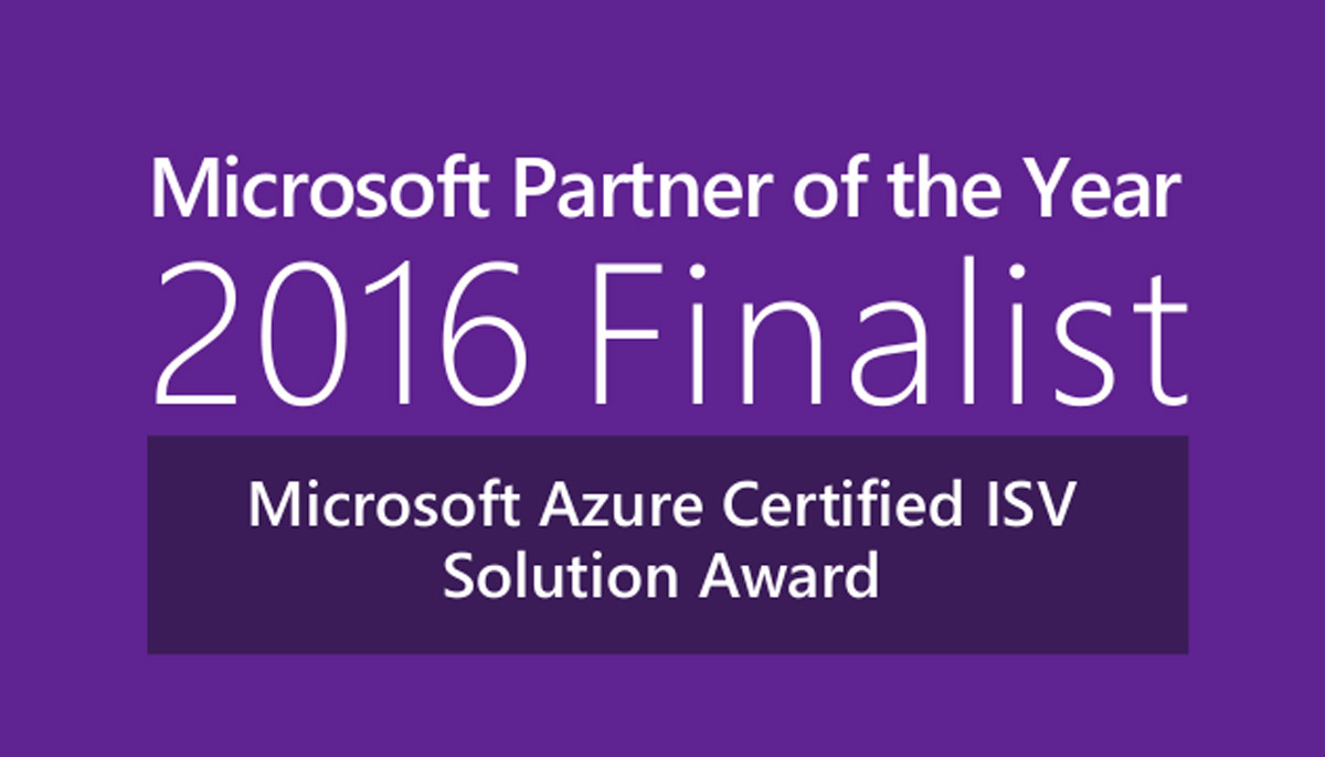 Esri recognized as finalist for 2016 Microsoft Azure Certified ISV Solution Partner of the Year