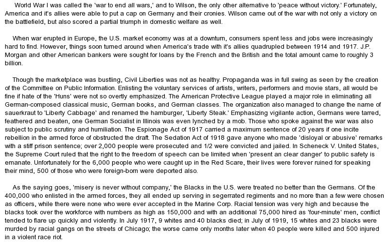 World War 2 Essay On World War One Pearson Prentice Hall Brief